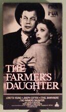 loretta young  THE FARMERS DAUGHTER  joseph cotten    VHS VIDEOTAPE
