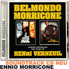 Belmondo-Morricone (2 Scores) Ennio Morricone-bande originale CD NEUF