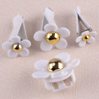 4Pcs Cute flower Shape Car Air Freshener Fragrance Air Conditioning Vent Perfume