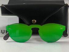 New Super Retrosuperfuture QR0 Tuttolente Paloma Green Sunglasses Size 48mm