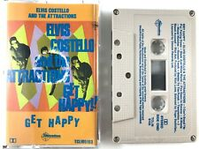 Elvis Costello & The Attractions ‎– Get Happy Cassette Tape