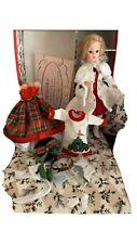MADAME ALEXANDER CISSETTE DOLL, Christmas Trunk Set & Outfits !