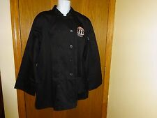 New Chef Works Black Coat Size Xl Master Chef Young Chef'S Academy .