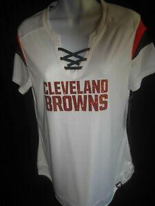 Cleveland Browns NFL Women's Fanatics Lacer Jersey MSRP $60.00 Medium