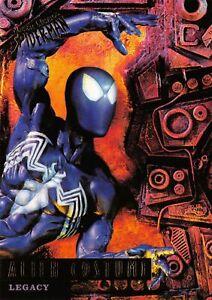 ALIEN COSTUME / Marvel's Spider-Man Fleer Ultra 1995 BASE Trading Card #82