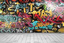 Stickers géant déco Grafitti 200x300cm réf 11059