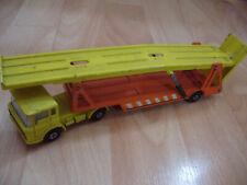 Vintage 1970 Matchbox Lesney Superkings K-11 DAF Car Transporter Truck Lorry Toy