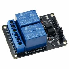 12V 2-Channel Relay Board Module Active Low