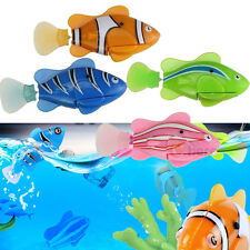 4x Robofish Activated Battery Powered Robo Fish Toy Childen Kid Robotic Pet Gift