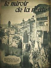 169 AUTOMOBILE BELFORT A MULHOUSE PONT-EN-ROYANS (38) LE MIROIR DE LA ROUTE 1930