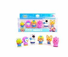 Pororo & Friends Character Toys (6pcs) - Water Gun Set Enjoy Bath Time