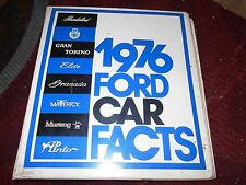 1976 FORD MUSTANG II COBRA II THUNDERBIRD ELITE MAVERICK PINTO DEALER ALBUM W
