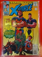 Flashback X force comics Marvel #1 Nice Comic book