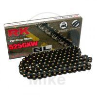 RK Xw-Ring Black 525GXW/122 Chain Rivet Yamaha 800 FZ8 S FAZER / ABS 2010-2016
