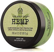 THE BODY SHOP Hemp Foot Protector Hard Working Moisture Cream Butter 3.5 oz