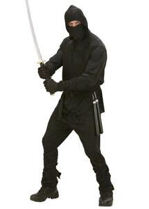 Adult Mens Black Ninja Costume