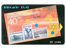 TAAF N° 6 LUXE PETIT T A TAAF COTE 550 EURO TRES RARE