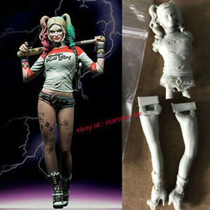 Harley Quinn 1:24 Unpainted Resin Model Kit Unassembled Garage Kit Figure GK New