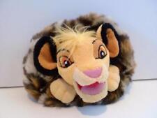 Disney Parks Leopard Print Faux Fur The Lion King Simba Plush Toy Coin Purse