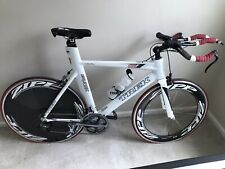 Trek triathlon bike With New Zipp 900 And 807 clincher Tires And New Dura-Ace