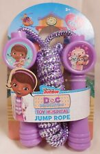 Jump Rope Disney DOC MCSTUFFINS Purple 7 foot Outside Play Toy S2