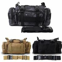 Tactical Waist Packs Military Army Shoulder Belt Bum Bag Utility Molle Messenger