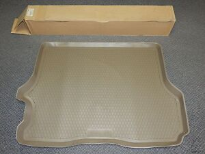 New OEM 2002-2009 Isuzu Ascender Rear Cargo Tray Floor Mat Chevy GMC Cashmere