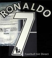 Manchester United Ronaldo 7 Name/Number Set Football Shirt 07-13 Sporting ID