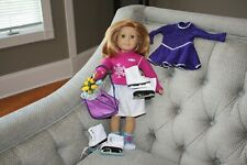 New ListingAmerican Girl Mia St Clair Goty 2008 Retired Doll w/Extra Outfit