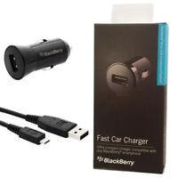 echtes Blackberry Mikro USB Schnell Auto Ladegerät für Z3 Z10 Q20 Q10 Q5