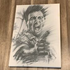 Scarface Al Pacino art picture wall hanging Tony Montana 29X20 scar face signed