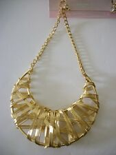 "3.5""  gold wrapped dangle chain earrings basketball wives"