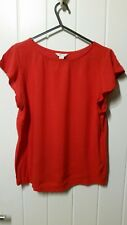 Springfield Red Blouse Size M