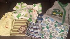 Lot Of 6 Baby Boy Sleepers Carters Gerber Baby Onesies Disney John Deere