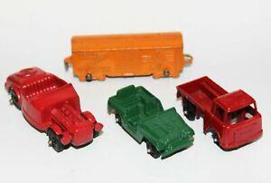 Vintage Kenner RoadChamps Hot Wheels Miniature Toy Car Porsche Truck Dog Mower
