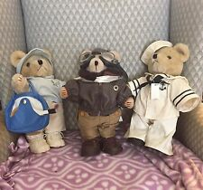 3 (three ) Tender Heart Treasure bears