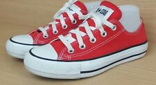 Converse All Star canvass flats shoes trainers 4 Red