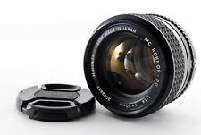 🌟MINOLTA MC ROKKOR-PG f1.4 50mm MF Manual Focus Film Camera Lens from Japan S53
