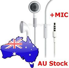 WHITE Headphone Earphone MIC iPhone 4 5 5S 6 6 Plus iPod iPad  Samsung Glaxy HTC
