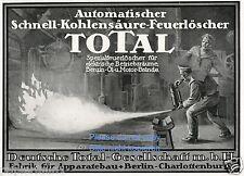 Feuerlöscher Total Reklame 1918 Feuer an Bord Matrose Dampfschiff extinguisher