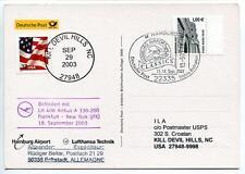 FFC 2003 Lufthansa Volo Speciale CLASSICS Airbus A330-200 New York Francoforte