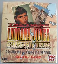 The Young Indiana Jones Chronicles Trading Card Hobby Box 1992