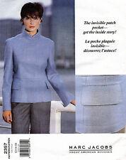 VOGUE AMERICAN DESIGNER Misses' Jacket Marc Jacobs Pattern 2357 12-16 UNCUT