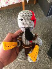 LittleBigPlanet Kratos/ God of War Sackboy (handmade,knitted)