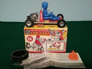 Vintage Herkimer OK Cub-Kart Tether Car w/.024 Engine in Original Box