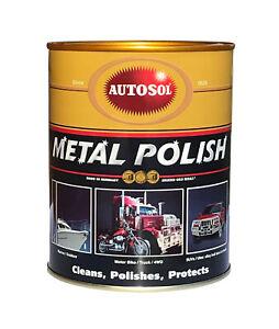 Autosol Metal Polish 1kg Tub Bulk Economy Pack Made in Germany #1100
