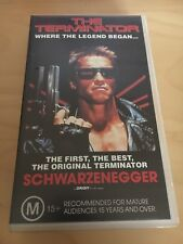 The Terminator VHS Tape Pal Video