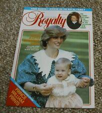 Royalty Monthly Magazine Volume 2 No 12 June 1983. Princess Diana