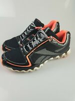 Reebok Mens Orange Ziglite Running Shoes Size 11.5 Very Nice Condition 105426771