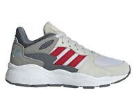 Scarpe Sportive Adidas Crazychaos Ragazzo Donna Grigia Rosso Cloudfoam Comode